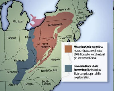 Welcome to West Virginia Sierra Club — Marcellus Shale